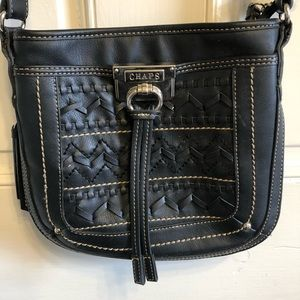 Chaps leather purse